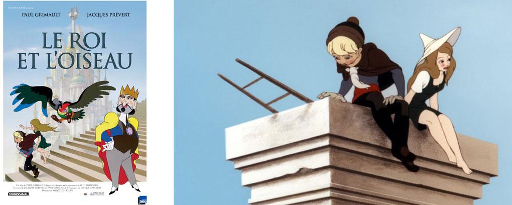 Le roi et l'oiseau - 3 dessins animés dont on devrait parler plus souvent