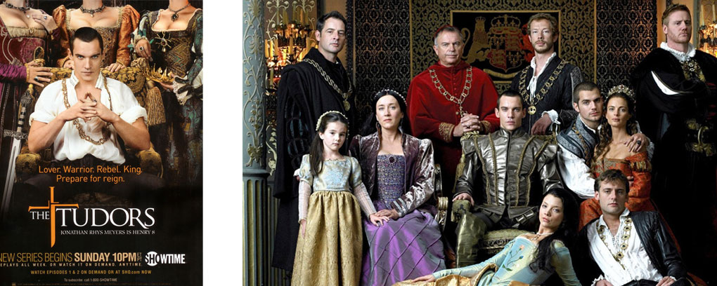 4 séries sur la royauté anglaise - tudors