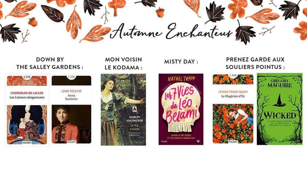 Pumpkin Autumn Challenge 2019 : Ma Pile à Lire - Automne Enchanteur