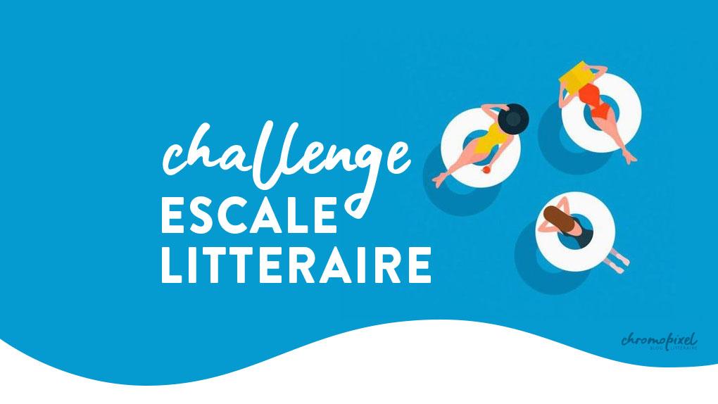 Pile à lire du challenge escale littéraire #escalelitteraire