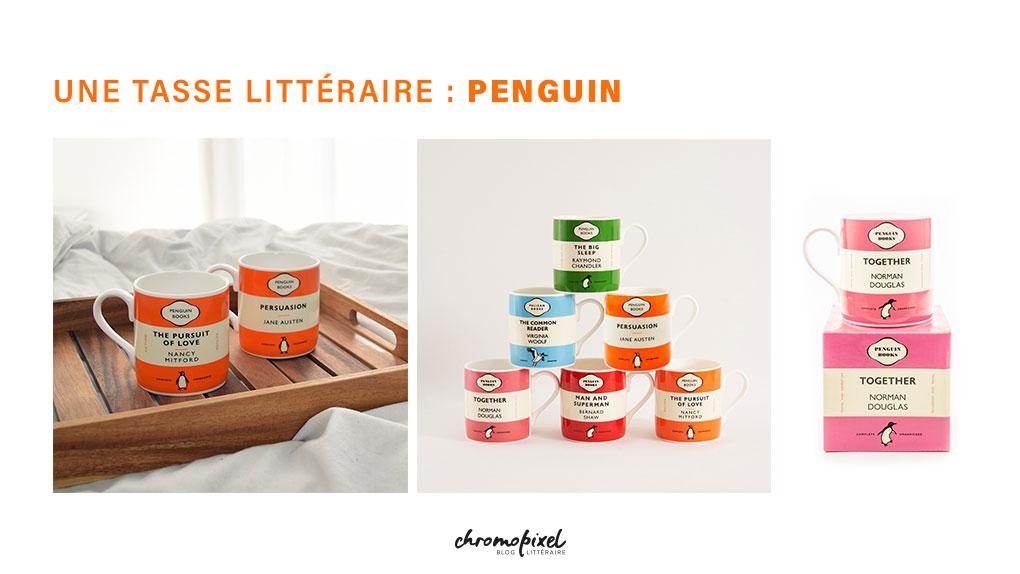 10 idées de cadeau pour les amoureux des livres Une tasse littéraire : Penguin