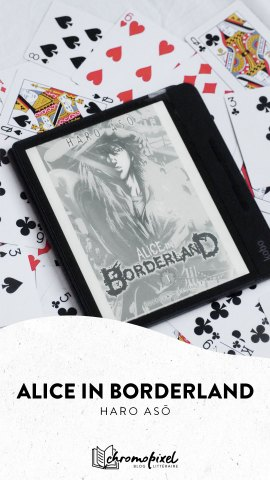 Alice in Borderland manga Haro Asō