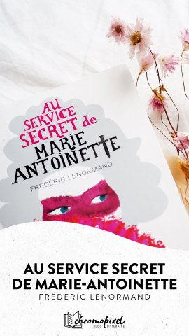 Au service secret de Marie-Antoinette : L'enquête du Barry de Frédéric Lenormand