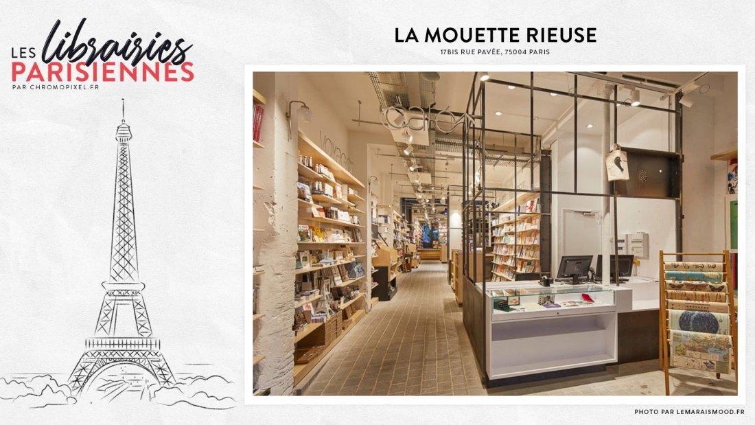 TOP 5 : Les librairies parisiennes à découvrir La Mouette Rieuse