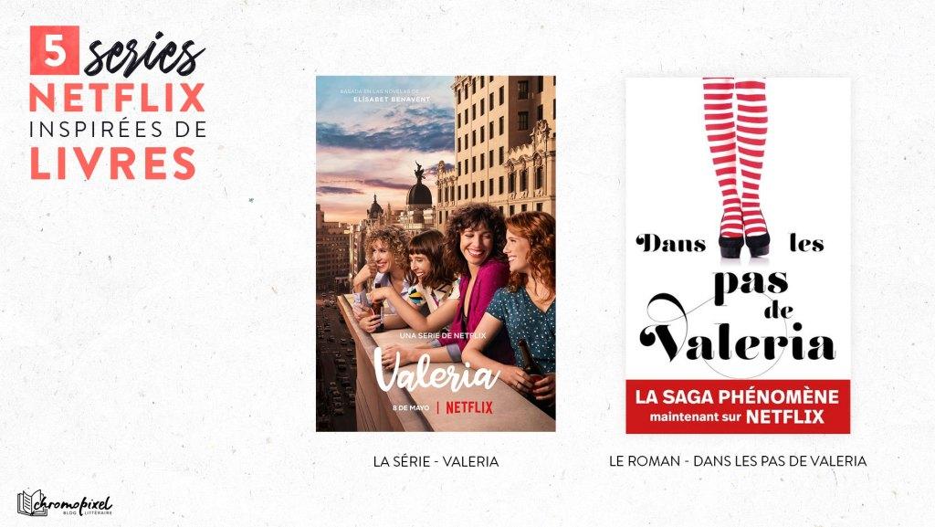 Valeria - Dans les pas de Valeria  Netflix
