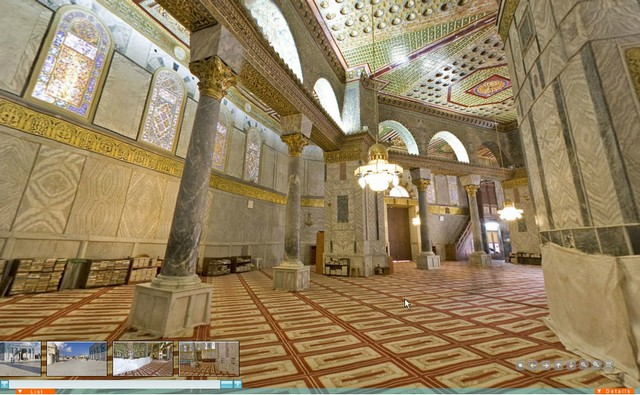 Gambargambar Masjid AlAqsa dari atas  Malaysians