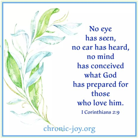 No Eye Has Seen 1 Cor. 2:9