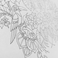 Magical Jungle Basford Coloring Book Sketch Coloring Page