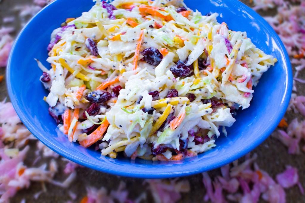 The Very Best Vegan Coleslaw – Gluten Free & Organic