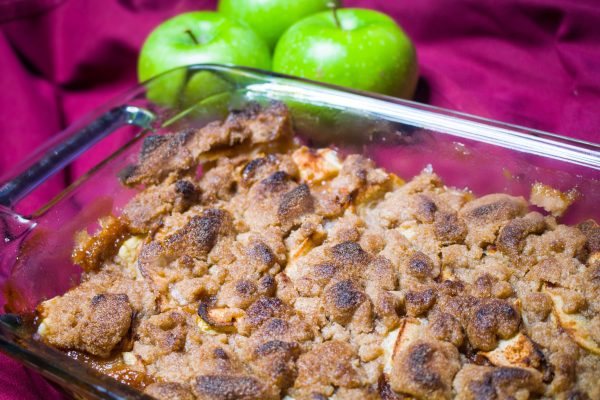 Sweet and Savory Apple Crisp - Organic, Gluten Free and Vegan - Chronically Gluten Free