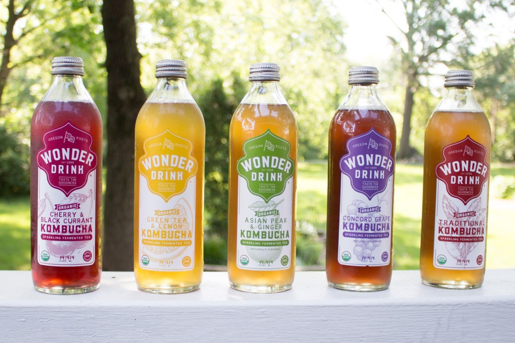 Taste the Wonder with Wonder Drink Kombucha