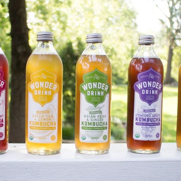 Taste the Wonder with Wonder Drink Kombucha - chronically gluten free