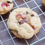 Cherry Chocolate Chunk Cookies - Vegan, Gluten Free, Dairy Free & Soy Free - Chronically Gluten free