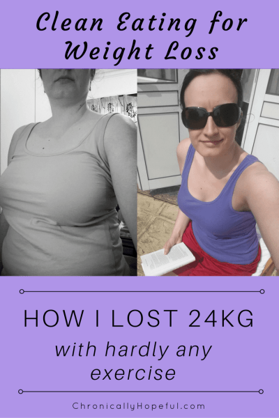 How I lost 24kg with hardly any exercise
