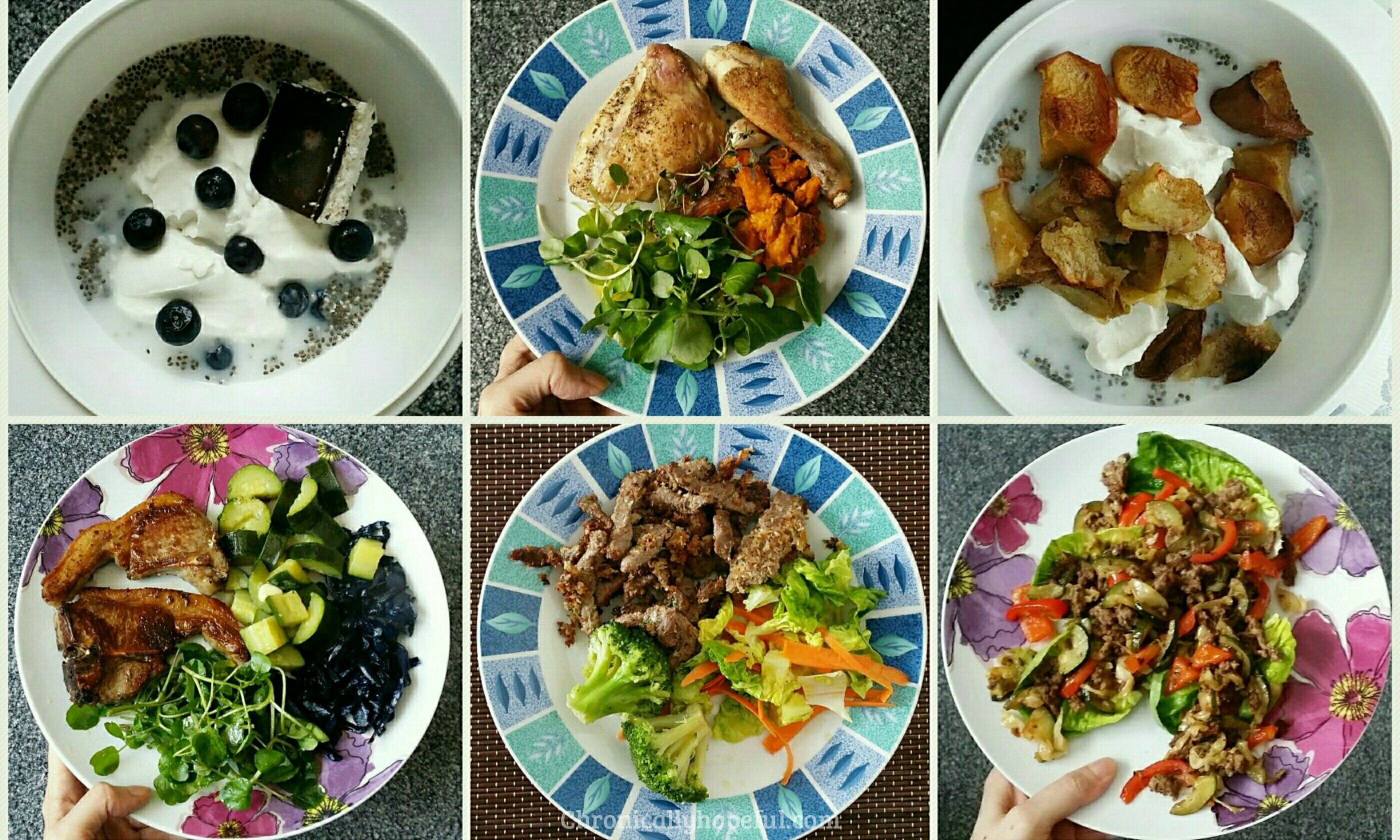Sept 2017 meal ideas
