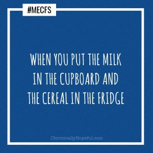 you put the milk in the cupboard