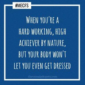 ME/CFS high achiever