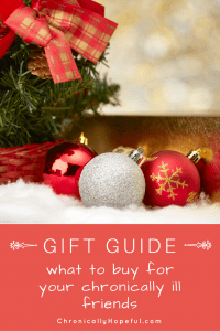 Gift guide, spoonie Christmas gifts PIN