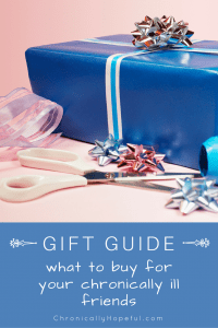 Gift guide, spoonie gifts part 2 PIN