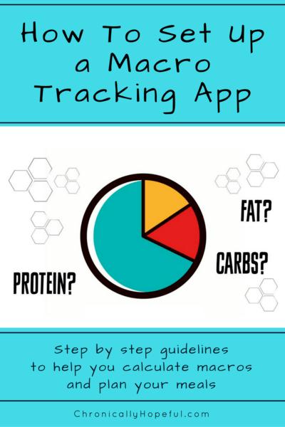 Setting up a macro tracker. MyFitnessPal, Cronometer, Keto.