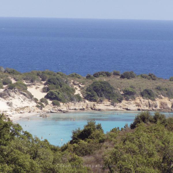 Corsica, a gorgeous hidden bay