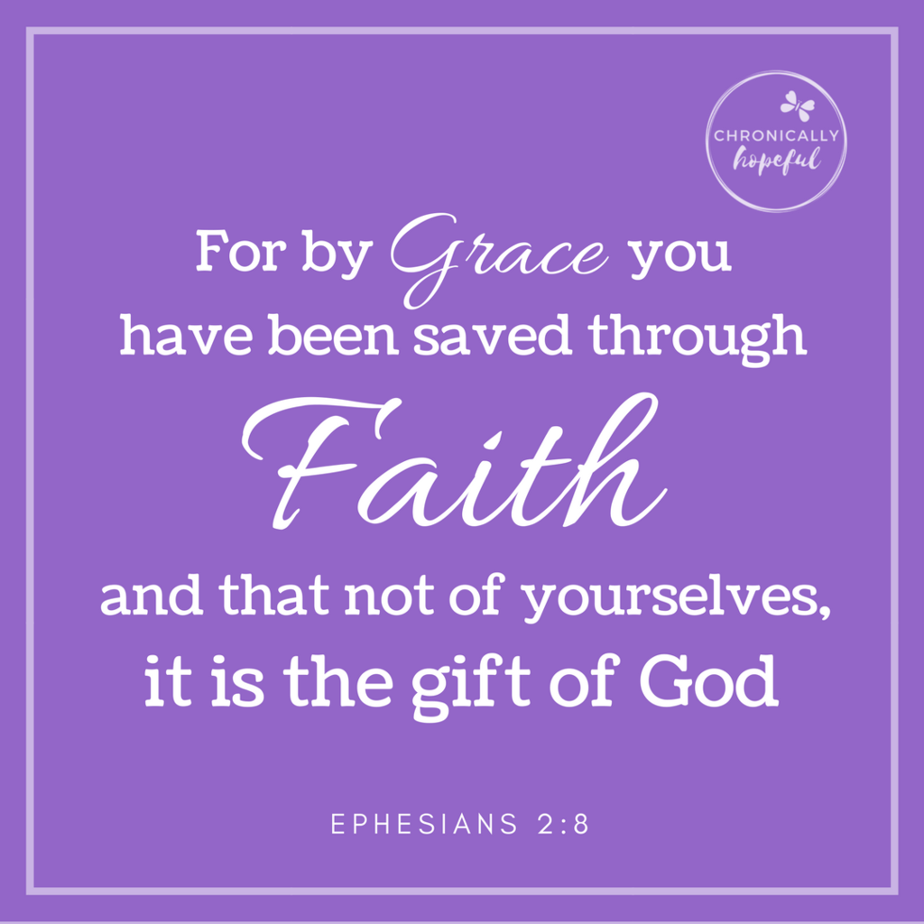 Eph 2_8 By faith you have been saved VERSE