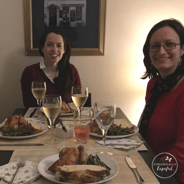 Christmas Dinner with friends, 2016