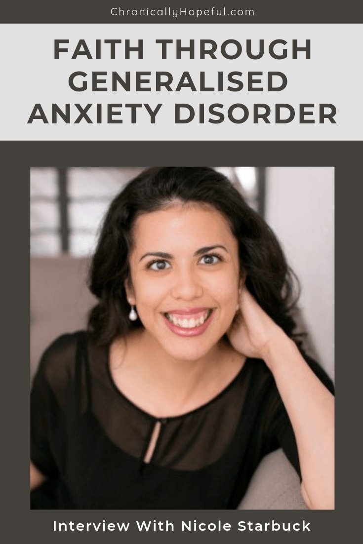 Faith through Generalised Anxiety Disorder, Interview with ...