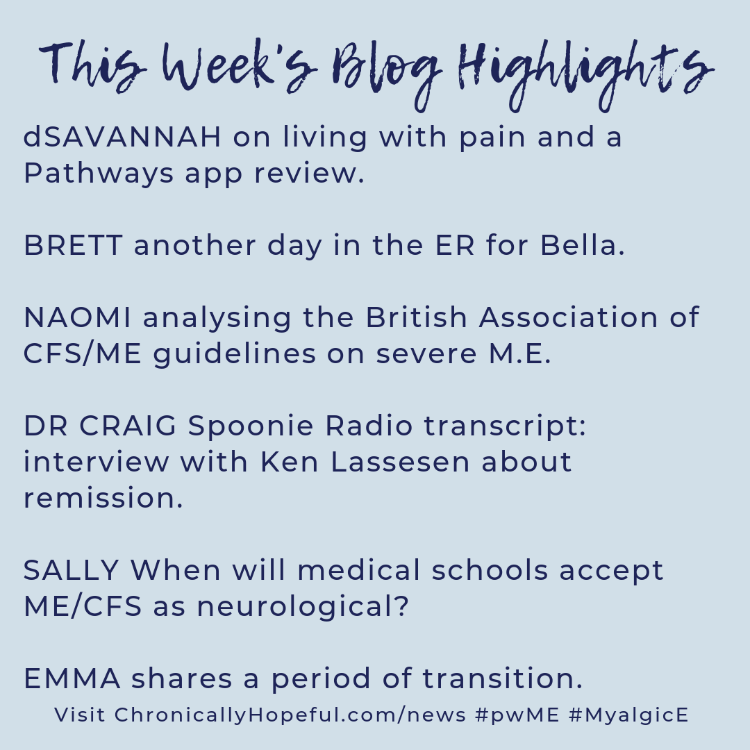 A list of this week's blog highlights