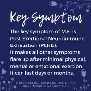 Key Symptom of M.E.