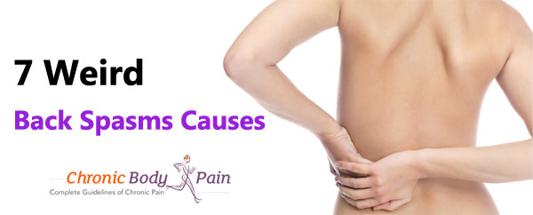Back Spasms Causes