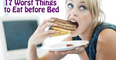 17 Worst Things to Eat before Bed