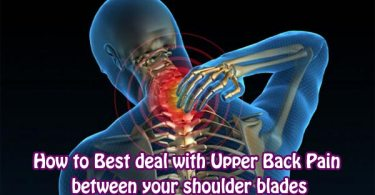 spine pain between shoulder blades