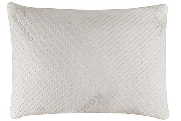 Snuggle-Pedic Bamboo Combination Memory Foam Pillow