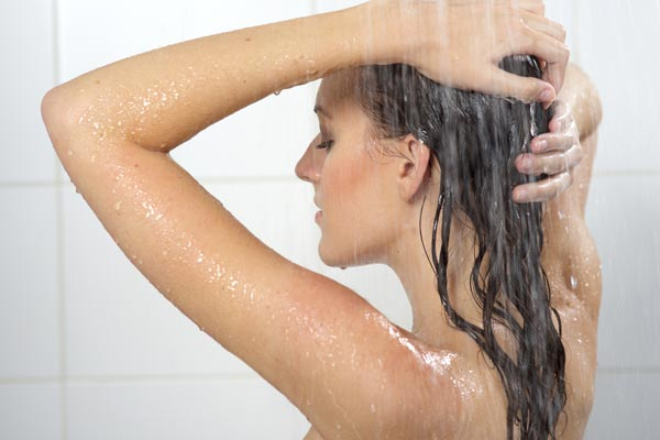 Fibromyalgia and shower pain
