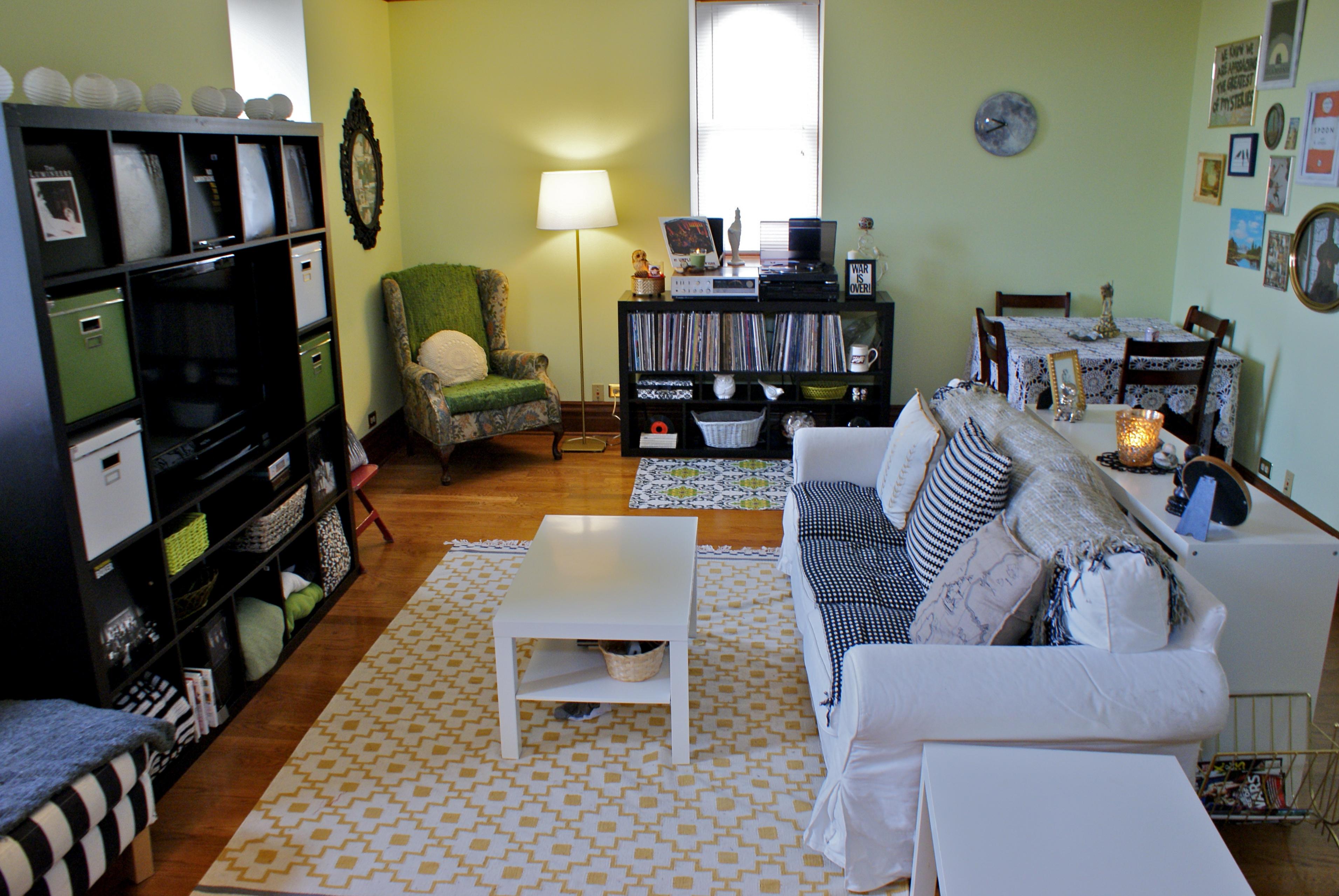 Apartment Living  Living Room Tour  CHRONIC ENTHUSIASM