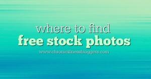 Where to find free stock photos | Chronic Illness Bloggers