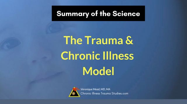 The Trauma and Chronic Illness Model: Summary of the Science: #stress before onset, #triggers, multigenerational trauma, trauma in childhood; insights for treating chronic disease