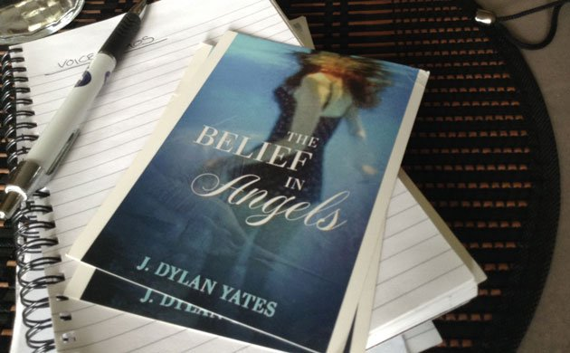 The Belief in Angels by J Dylan Yates, about finding sanity and one's direction amidst multigenerational trauma. An interview.