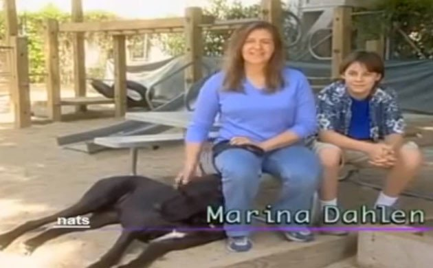 Kane-owners-Marina-and-Emmett - who sought help for Kane's symptoms after an accident