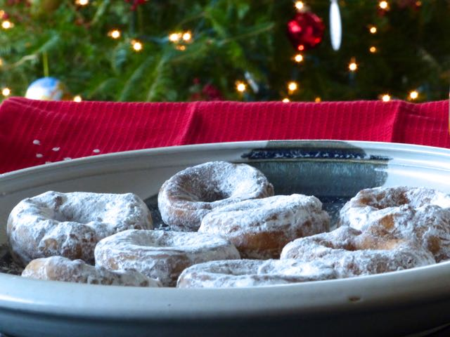 Christmas breakfast a vicarious pleasure of homemade doughnuts directly from Quebec