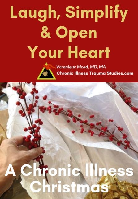 How to love, simplify, find joy and more ease for the holiday season. A chronic illness Christmas blog #chronicillness #disease #me/cfs #fms #diabetes #autoimmune CITS_Mead