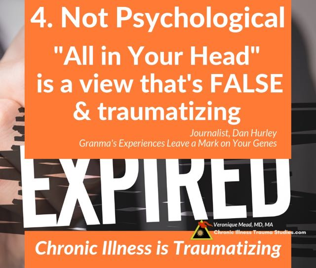 4 Being disbelieved or told your symptoms are fake is a form of abuse How Chronic Illness Can Be Traumatizing. Mead_CITS #FMS #chronicfatigue #SLE #inflammatoryBowelDisease #PTSD #disease #heartdisease