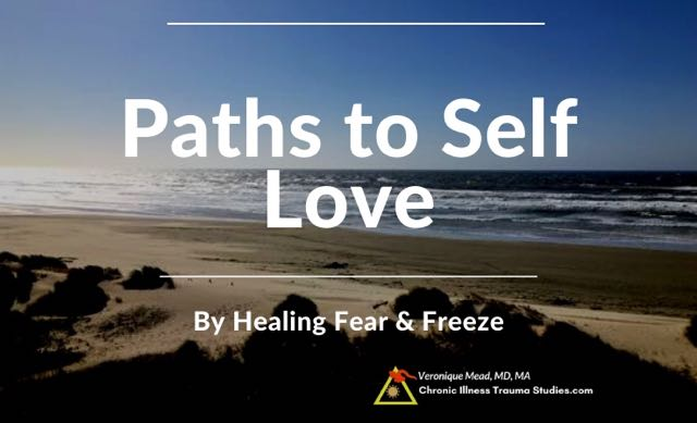 Learning to love yourself by working with fear and freeze, trauma, chronic illness, complex PTSD Mead CITS