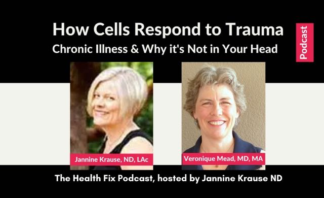 Cell danger response podcast Jannine Krause Veronique Mead CITS