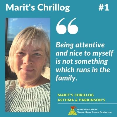 quote Marit's Chrillog #1 Parkinson's Story and Asthma Resources I Mead CITS