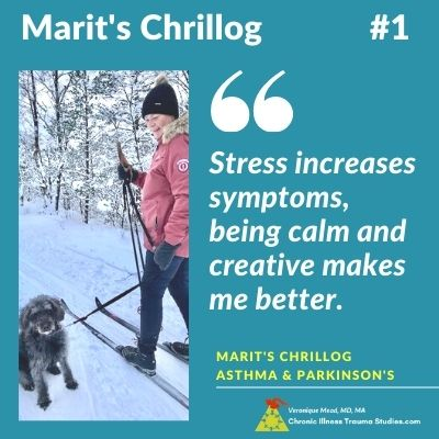 Quote Marit's Chrillog #1 Parkinson's Story and Asthma Resources II Mead CITS
