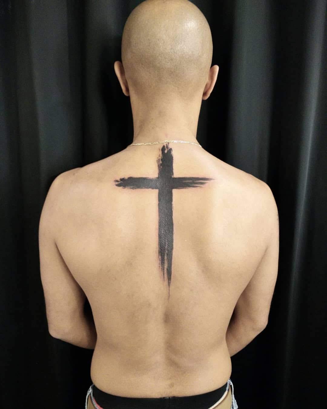Solid Cross Tattoos : solid, cross, tattoos, Cross, Tattoo, Designs, Chronic