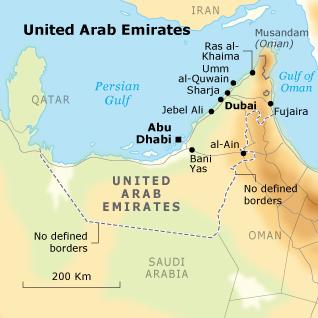 Geography of United Arab Emirates