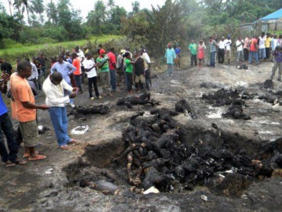 FILE PHOTO: People burnt to death after a fire disaster